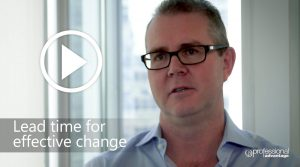Lead Time for Effective Change Video
