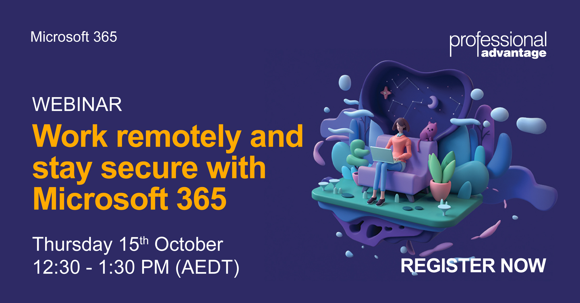 Event - Work Remotely And Stay Secure With Microsoft 365